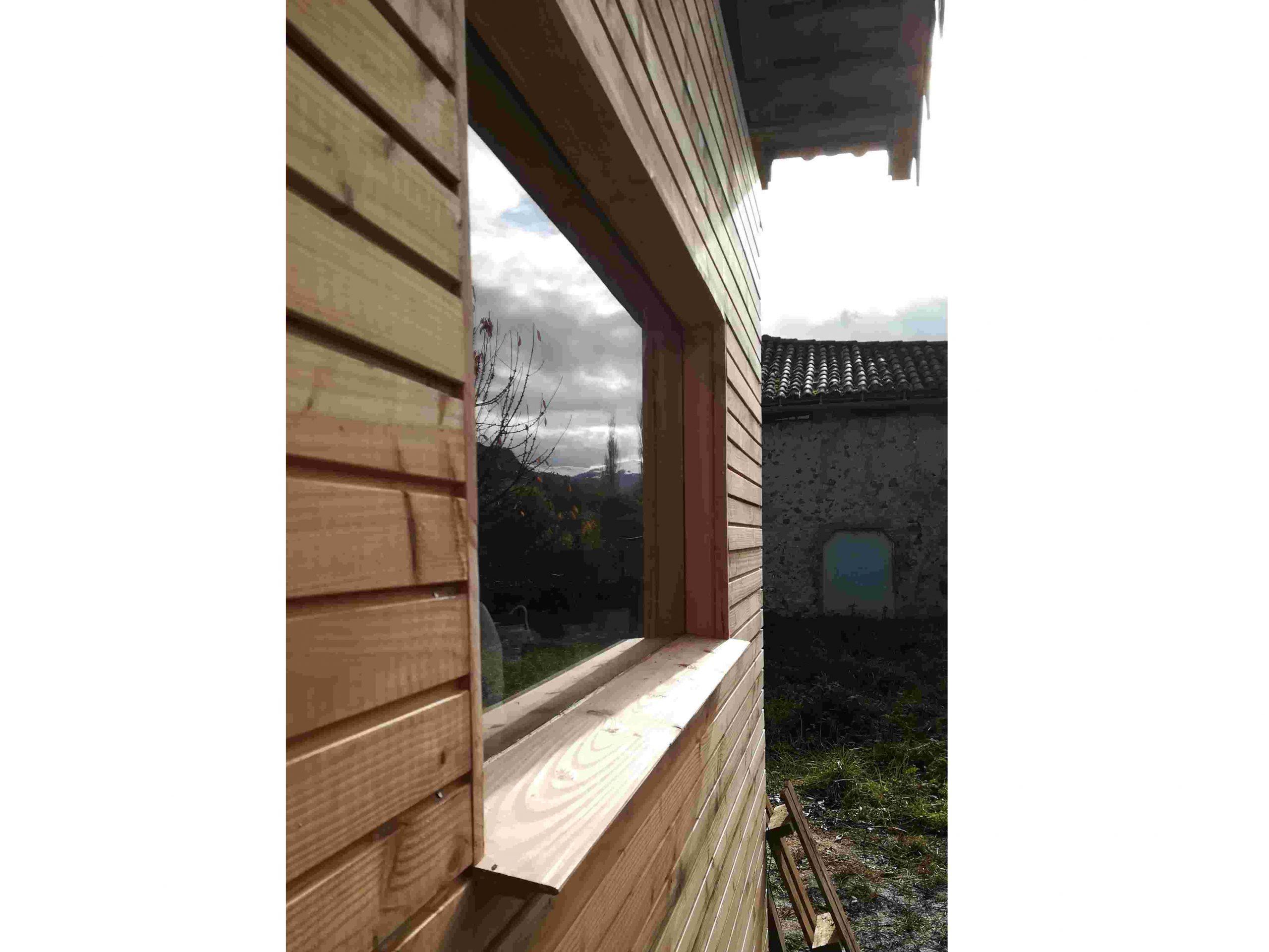 Fentêtre maison laboratoire