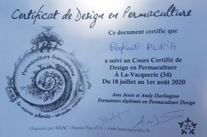 Cours certifié en permaculture diplôme
